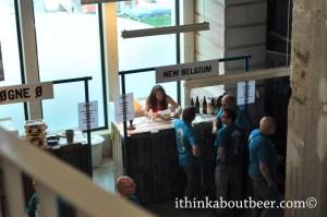 Leuven Innovation Beer Festival - Lauren Salazar of New Belgium