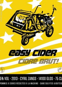Cyril Zangs Easy Cider Cidre Brut