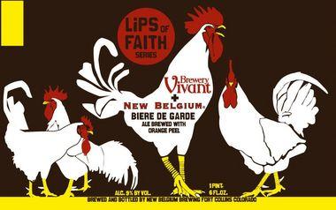New Belgium + Brewery Vivant Biere de Garde