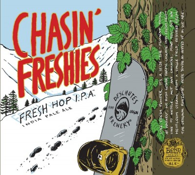 Deschutes Brewing Chasin' Freshies 2013