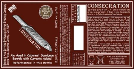 Russian River Brewing Consecration (Batch 008)