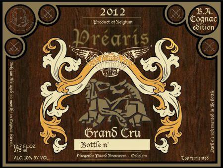 Préaris Grand Cru 2012 Cognac