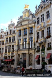 The Belgian Brewer's Guild Building in the Grand Place