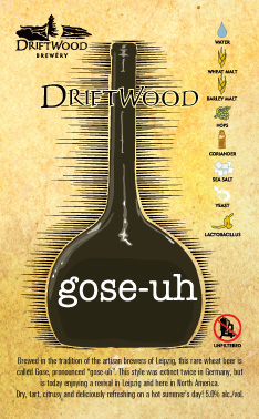 Driftwood Brewery Gose-uh