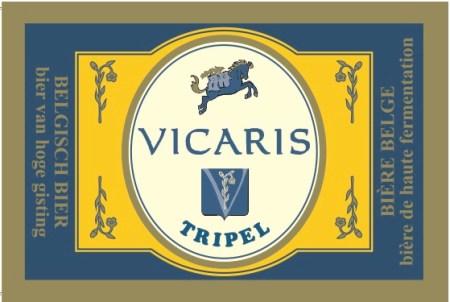 Brouwerij Dilewyns Vicaris Tripel