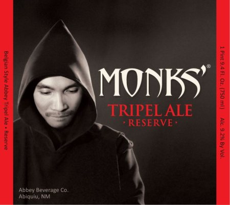 Monks' Tripel Ale Reserve