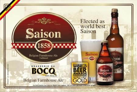 Brasserie du Bocq Saison 1858