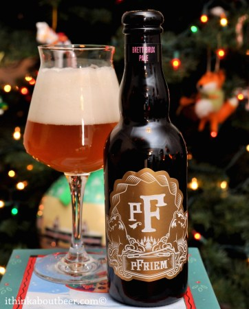 Pfriem Brett Brux Pale – Bottle No. 3 – 12/13/2016