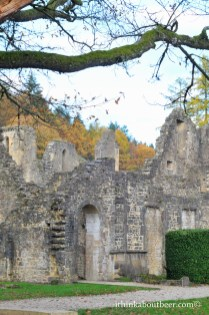 Autumn Hills over Ruins - Orval