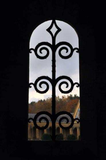 Autumn Through the Window - Orval