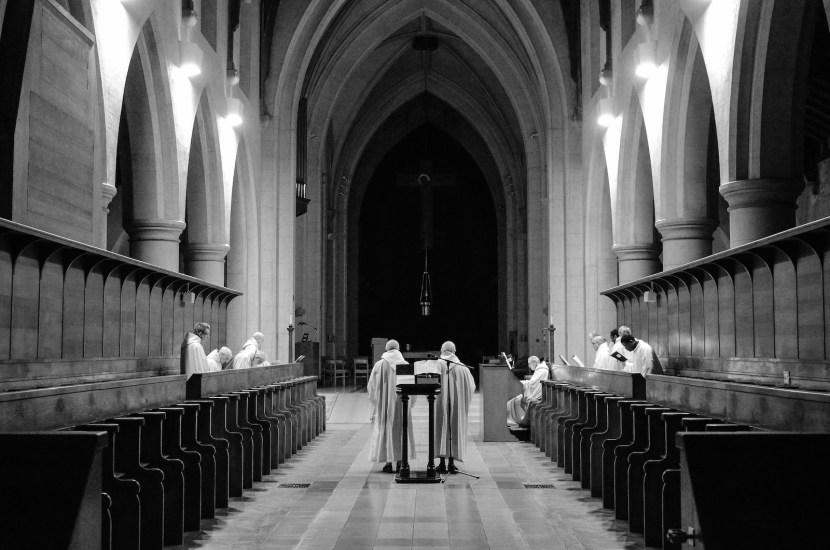 Choir at Mount Saint Bernard Abbey