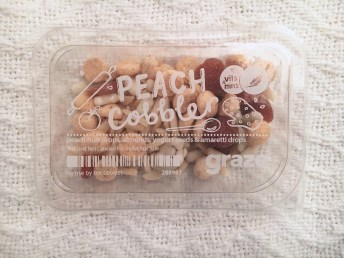 Graze Box Peach Cobbler | I Think It's Ashley