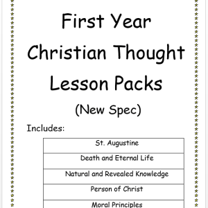 First Year DCT Lesson Packs