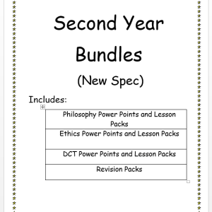 Second Year Bundles