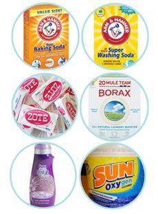 Homemade Detergent Ingredients