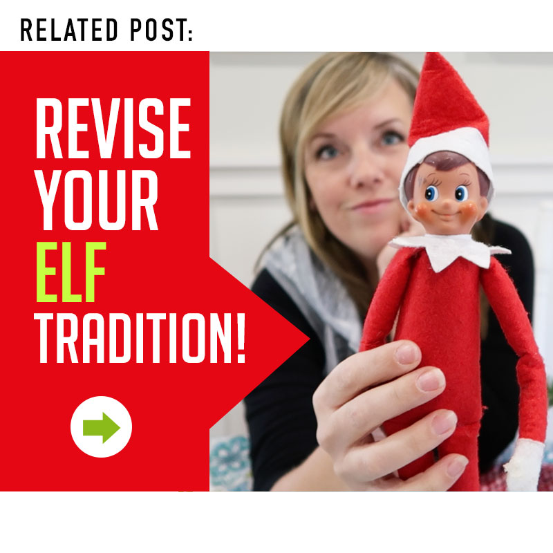 Tired of your Elf on the Shelf? Introduce a new tradition this year!!