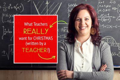 What Teachers REALLY want for Christmas! #Teacher #Christmas #Gift #Ideas #Creative #Cheap #Easy #DIY