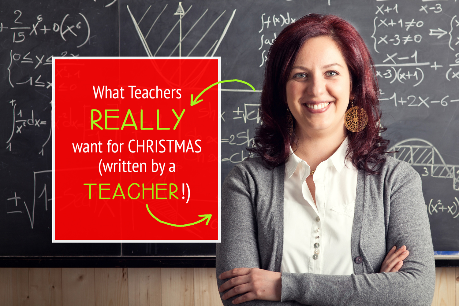 What Teachers REALLY want for Christmas! #Teacher #Christmas #Gift #Ideas #Creative #Cheap #Easy #DIY