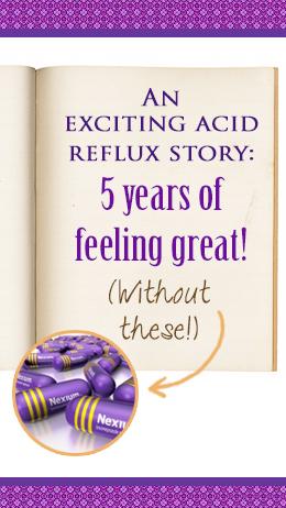 treat acid reflux naturally