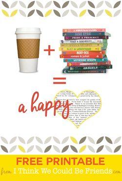 FREE Reading Artwork!