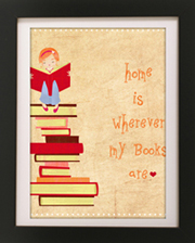 8 FREE Reading Inspired art prints for your home!