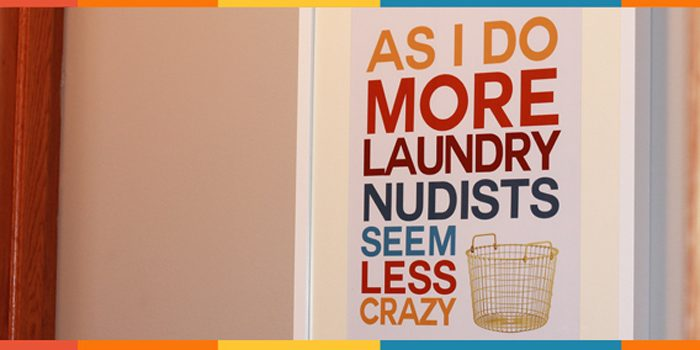 FREE Laundry Room picture-- This graphic designer gives her artwork away for free, love it!
