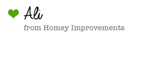 Click Here to visit Ali at Homey Improvements!