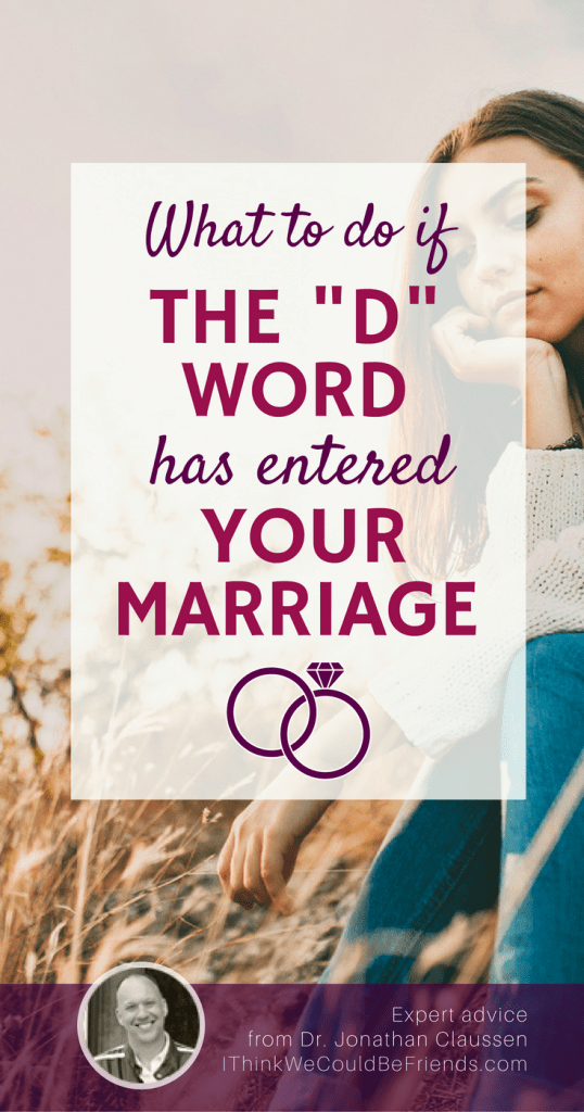 I could never try to understand your specific situation, but if you are considering divorce, I would ask you to consider this first. #divorce #marriage #advice #prevent #prevention #friend #husband #wife