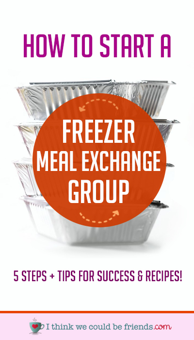 A freezer meal exchange is a great way to preserve your sanity & get a variety of meals while only having to prep one recipe.