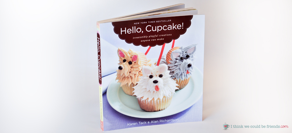 5 Creative Gift Baskets: A Cupcake themed basket is fun to give, especially with a fun Cupcake Idea Book like the one included :)