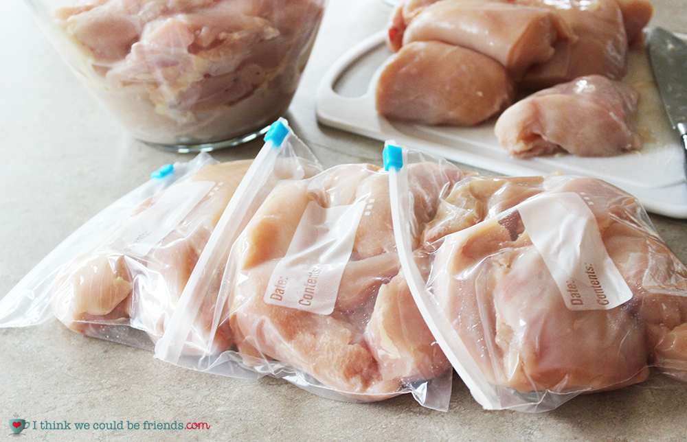 We have been purchasing Zaycon Wholesale Chicken for a couple of years now and have save a TON of money on meat!