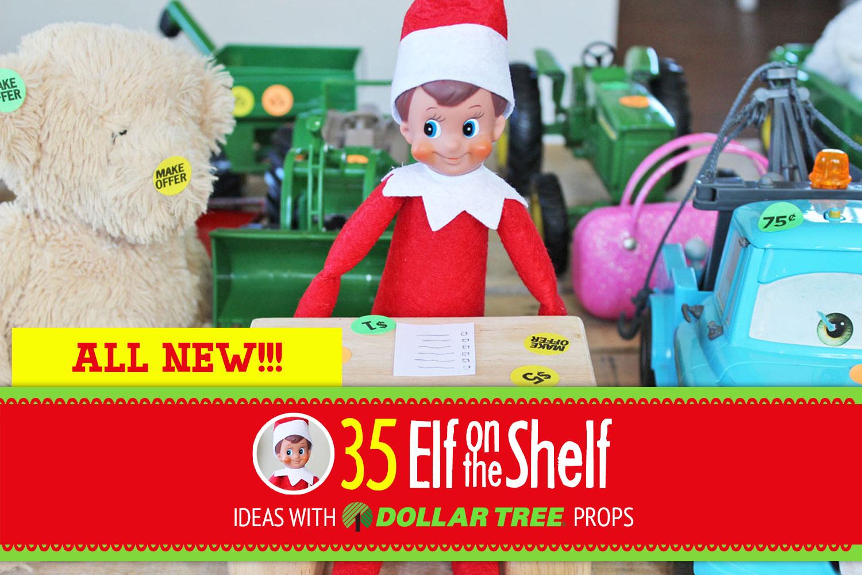 New Elf on the Shelf Ideas for 2017! Easy, creative & toddler Elf on the Shelf ideas!