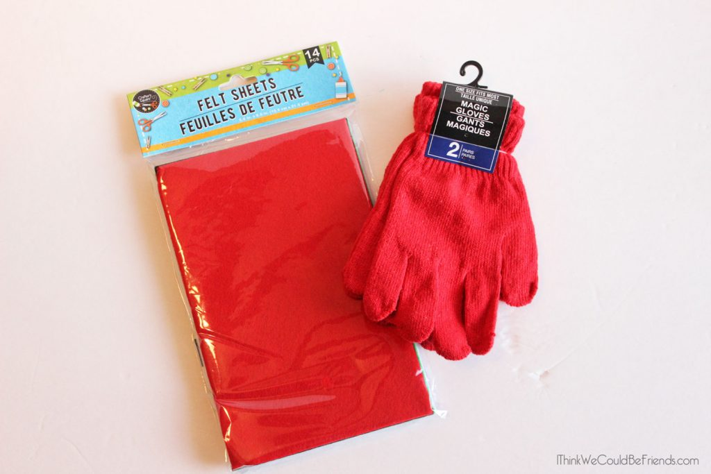 DIY Elf on the Shelf Moving Glove with Free Printable package! You can literally make this in 5 minutes and never have to worry if one of your ideas lands your elf in a poor place! Just use the magic glove to move him! #ElfOnTheShelf #New #Ideas #Quick #Easy #Funny #Toddler