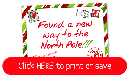 This is a quick & fun new Elf on the Shelf Idea: Elf goes Postal! Includes free printable sign! #Christmas #ElfontheShelf #Quick #easy #DIY #Funny #Toddler