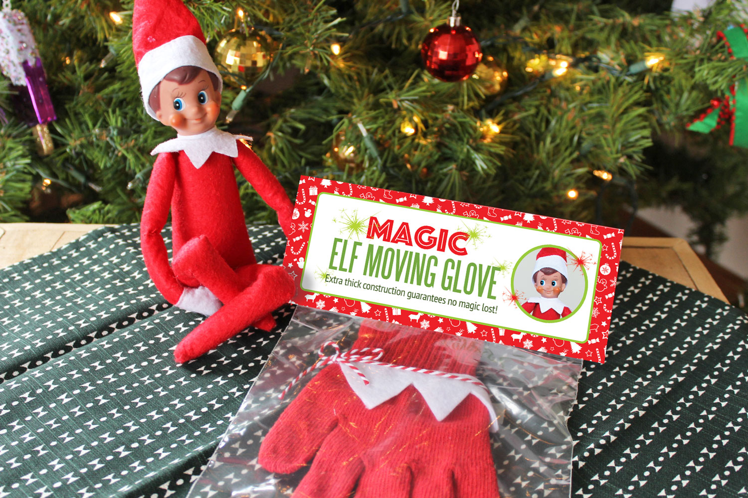 Move your Elf on the Shelf without him losing any magic!