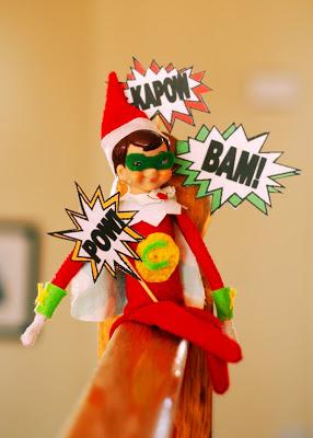 Elf on the Shelf Arrival Ideas: FREE Printable Superhero arrival letter AND lots of superhero costume ideas! #elfontheshelf #arrival #ideas #letter #free #printable #easy #quick #funny #superhero #boys #toddlers