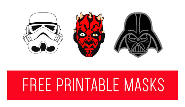 Free Printable Elf on the Shelf Star Wars Masks