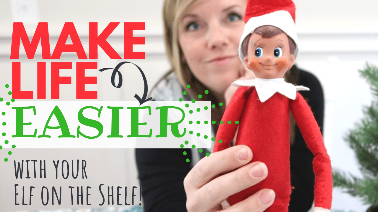 If you feel like you need to change things up with your Elf on the Shelf this year, this idea is FOR YOU!!!