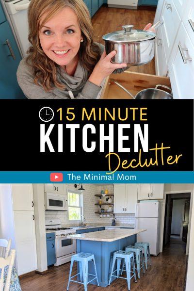 Pinterest kitchen declutter tips