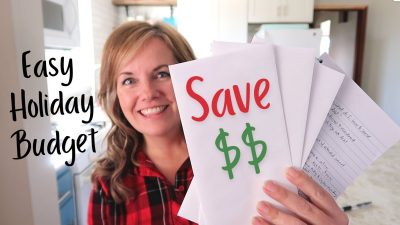 how to create a holiday budget, feature