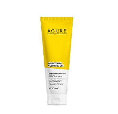 acure brightening cleansing gel