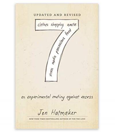 book, 7 by jen hatmaker