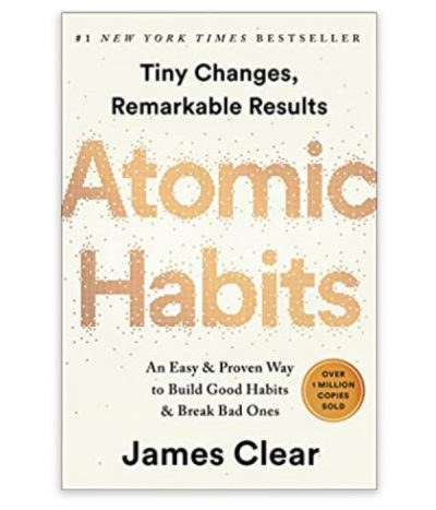 book, atomic habits by james clear