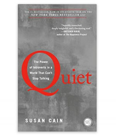 book, quiet by susan cain