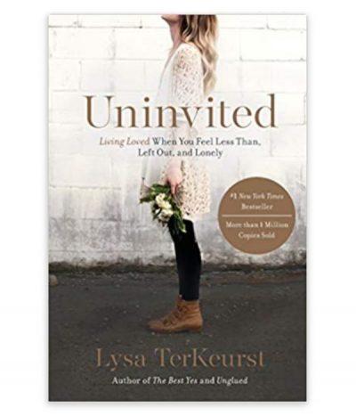 book, uninvited by lysa terkeurst