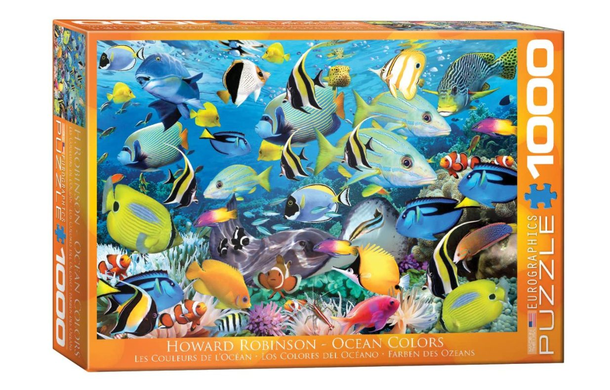 jigsaw puzzle with fish
