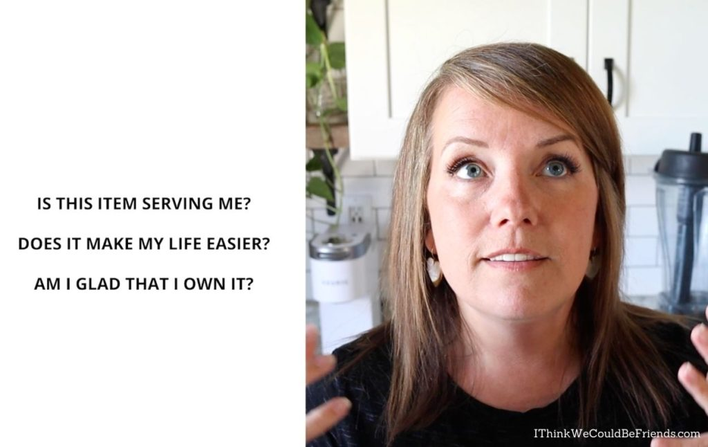 Dawn and decluttering questions