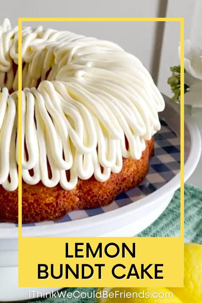 lemon bundt cake pin