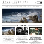 Award-winning blog Transpositions
