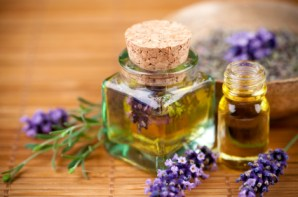 Lavender Flowers and oil.
